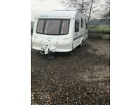 2003 Elddis tweed explorer 4 berth fixed bed