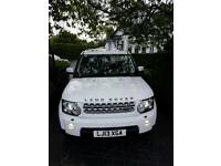 Land Rover Discovery 4 SDV6 3.0 HSE White