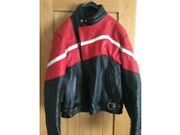 Motorcycle Leather Jacket & trousers