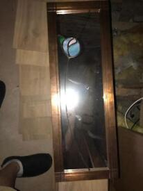 Detailed Mirror with copper surround