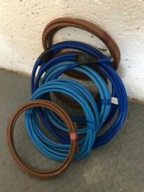Meter tails electric cable
