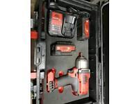 Mac tool electric Impact gun. Snap on dewalt Milwaukee