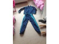 Chelsea team tracksuit 2015/16. Worn once. Bargain price of £15. Age 11-12