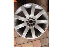 "Audi alloy wheel 18"""