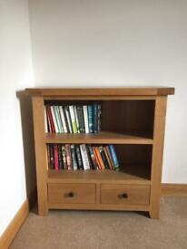 Small Solid Oak Unit