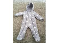 Marks and Spencer's pramsuit 6-9 months