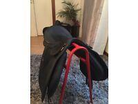 Black Wintec saddle