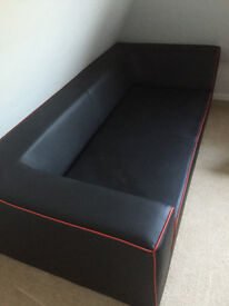 Leather Sofa As New Condition - 3 Seater