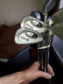 Ping i3+ irons black dot golf irons