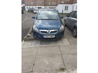 Vauxhall, ZAFIRA, MPV, 2007, Manual, 1796 (cc), 5 doors