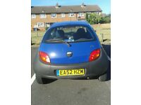 Blue ford ka 52 plate only 26,000 miles. Only 1 lady owner from new.