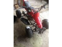 Working 50cc mini quad plus 1 for spare/repairs
