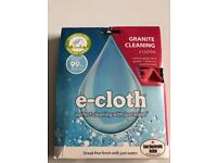 E-cloth Granite Cleaning Pack Black & Red