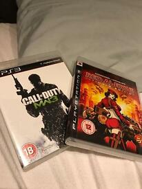 Call of Duty Modern Warfare 3 and Red Alert 3