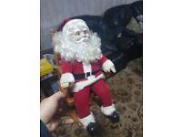 Santa Clause Figure Christmas decoration gift