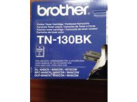 brother TN-130 BK ink cartridges, new