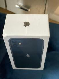 Brand new sealed IPhone 11 128gb black