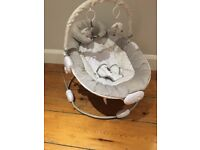Immaculate condition Silvercloud Counting Sheep bouncer