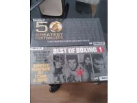 Boxing 6 DVD set and Football 7 DVD set