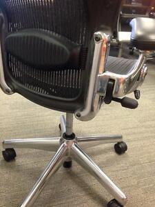 Herman Miller Aeron chair with Chrome Base