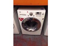 LG WASHING MACHINE 9KG DIRECT DRIVER MOTOR WHITE RECONDITIONED