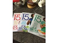 Joe Wicks The Body Coach Lean in 15 Collection (3 books, excellent condition)