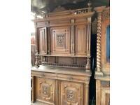 Antique mid of 19 century kitchen dresser