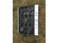 Cata 5 burner cast iron & stainless steel gas hob