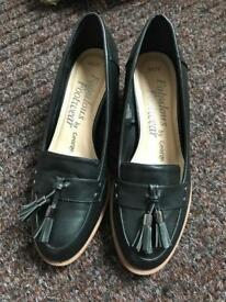 George black slip on shoes (size 5) (NEW)