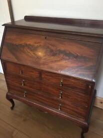 Antique writing desk/ bureau