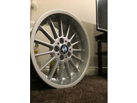 BMW staggered alloy wheels style 32 18 inch 5X120 alloys can fit other models