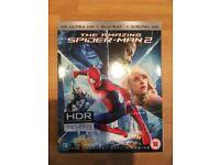 Spider-Man 2 4K UHD + Blu-Ray+ Digital Download