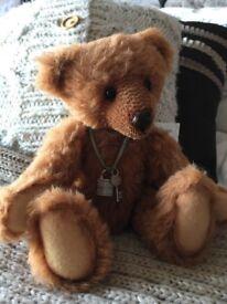 Jayne's bear 'Josh' OOAK 100% mohair