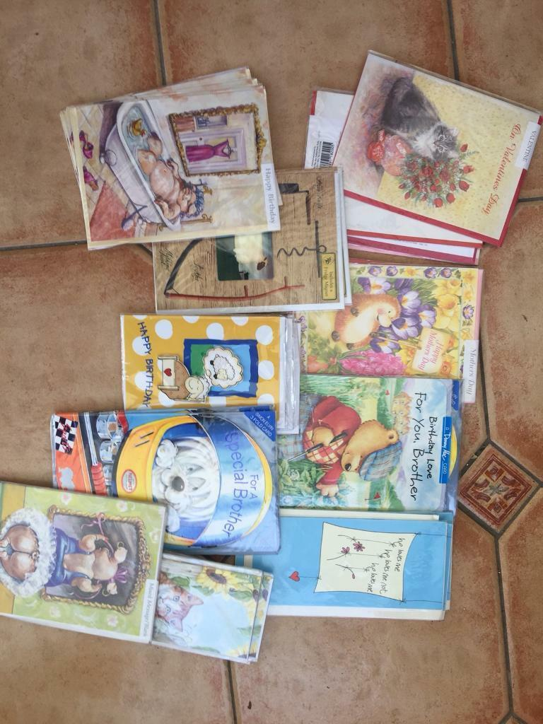 Over 2000 mixed new greeting cards in romsey hampshire gumtree over 2000 mixed new greeting cards kristyandbryce Gallery