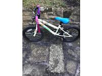 Girls halfords bike
