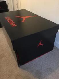 Huge Air Jordan storage/shoebox
