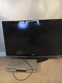 Sharp LCD 42 inch Television plus Meridian DVD