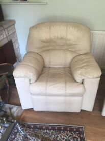 leather G Plan suite for sale