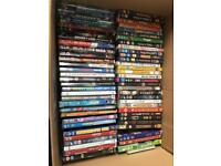 Selection of 60 DVDs