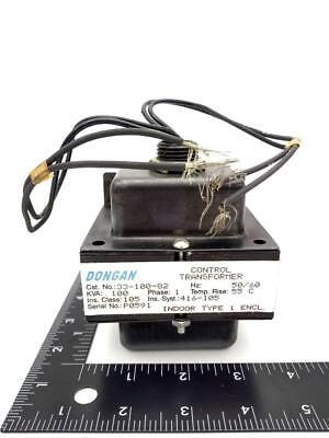 Dongan 33-100-82 Control Transformer 277pri V 120sec V 5060hz