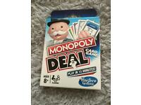 Monopoly deal card game NEW