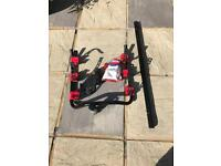 Witter ZX89 3 bike cycle carrier with frame clamps