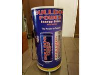 Drinks chiller/fridge £95, chest freezer or cake display fridge