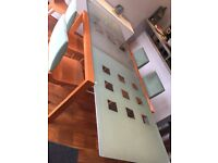 Ligne Roset Extendable Dining Table / 6 Chairs