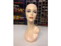 mannequin head for sale, £20/each