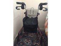 Shopping trolley, excellent condition.