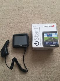 TomTom with car charger