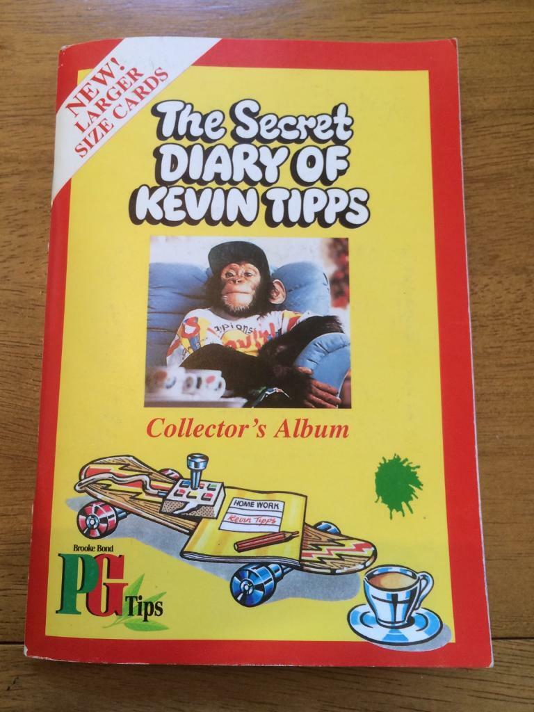 The secret diary of Kevin Tippsin St Helens, MerseysideGumtree - The secret diary of Kevin Tipps by Brooke Bond PG tips. Tea card collectors album with incomplete set of cards, missing about 13 cards. 1995