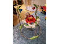 Fisher-Price Rainforest Jumperoo - baby bouncer