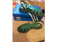 Adidas size 7 sandals opening ceremony limited edition brand new